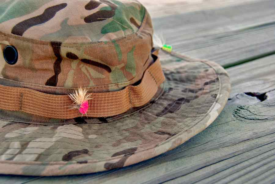 Best Fishing Hats: Camo